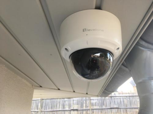 Videoüberwachung mit einer IP Domkamera